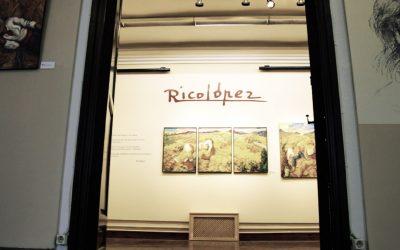 El pintor Ricolópez deposita varias de sus obras en el Museo de Bellas Artes de Murcia